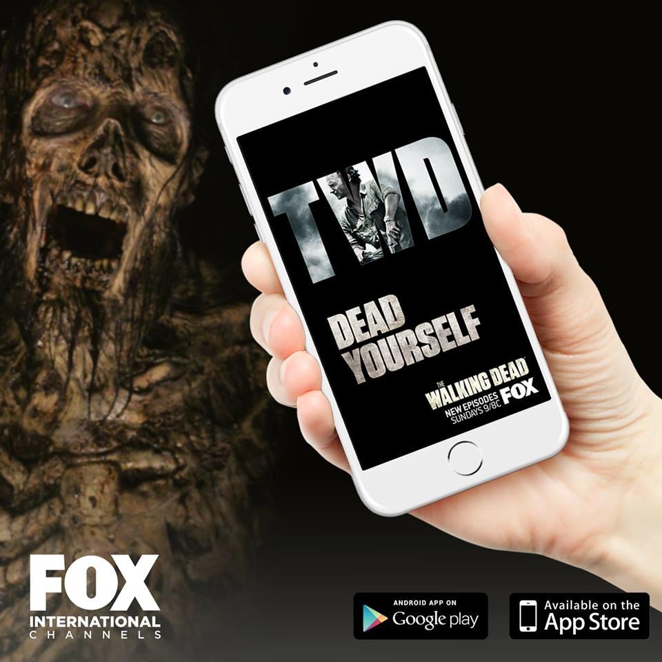 walking dead dead yourself app facebook