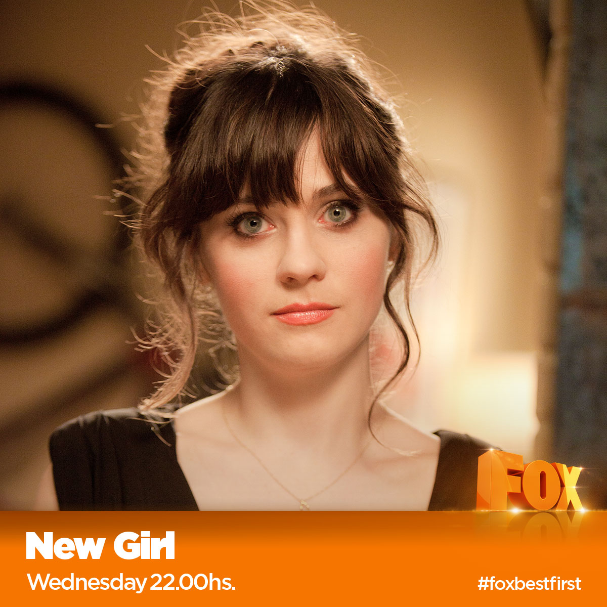 social branding fox new girl