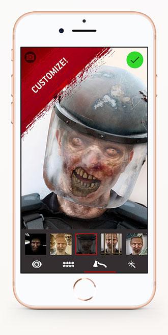 walking dead dead yourself app customize