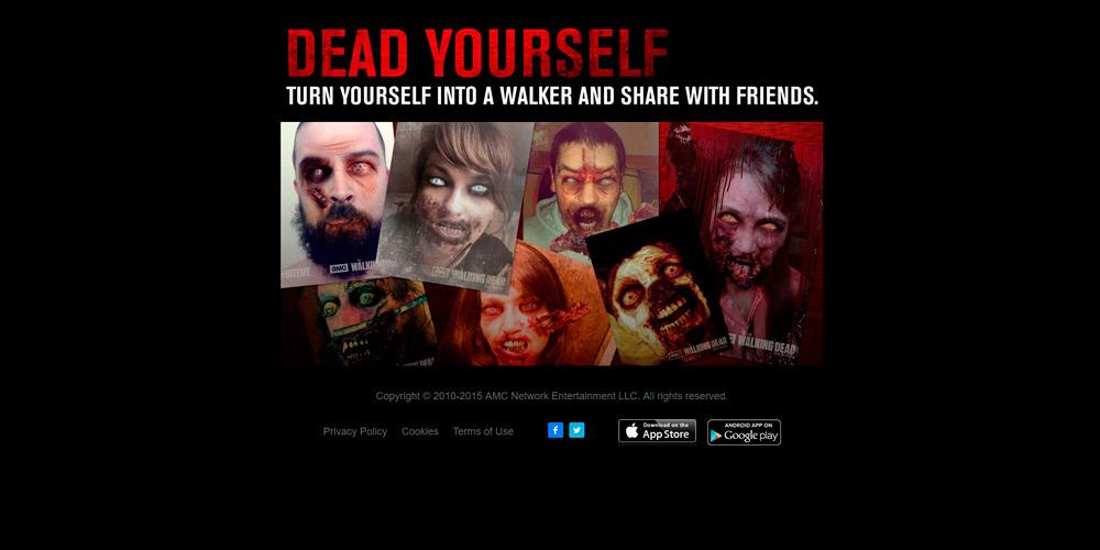 walking dead dead yourself app