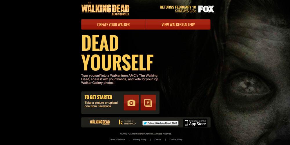 walking dead dead yourself app website
