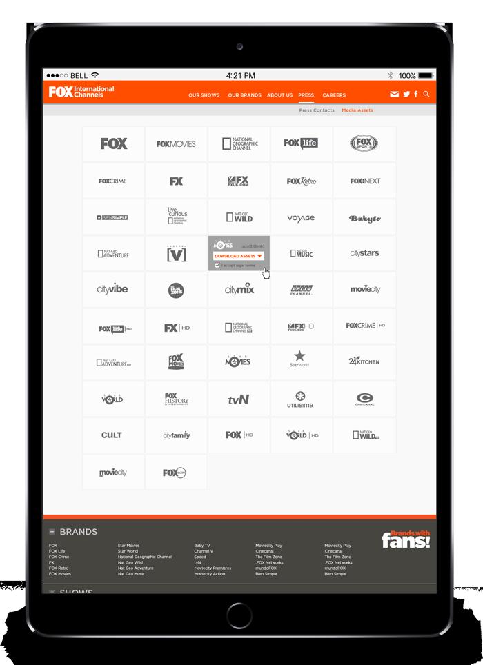 fox international channels 2013 website brands