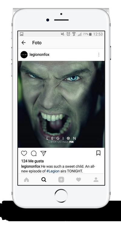 legion season 1 dan stevens facebook post