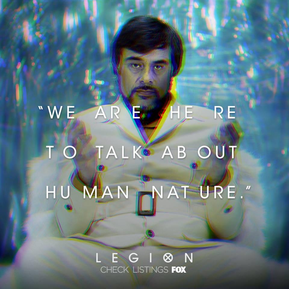 legion season 1 facebook quote