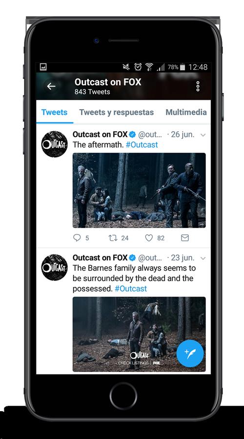 outcast season 2 twitter
