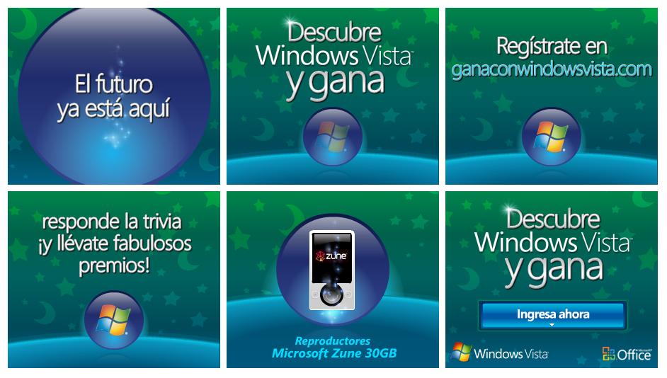 descibre windows vista concurso banners