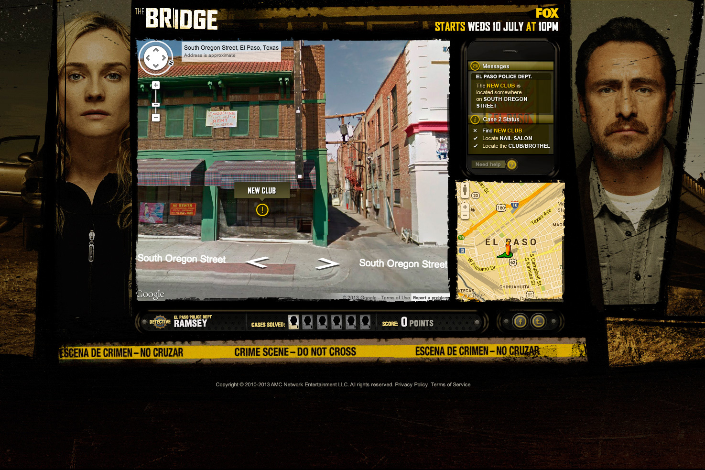 the bridge game mockup
