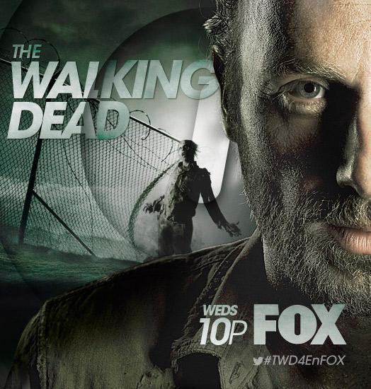 the walking dead season 4 art fox