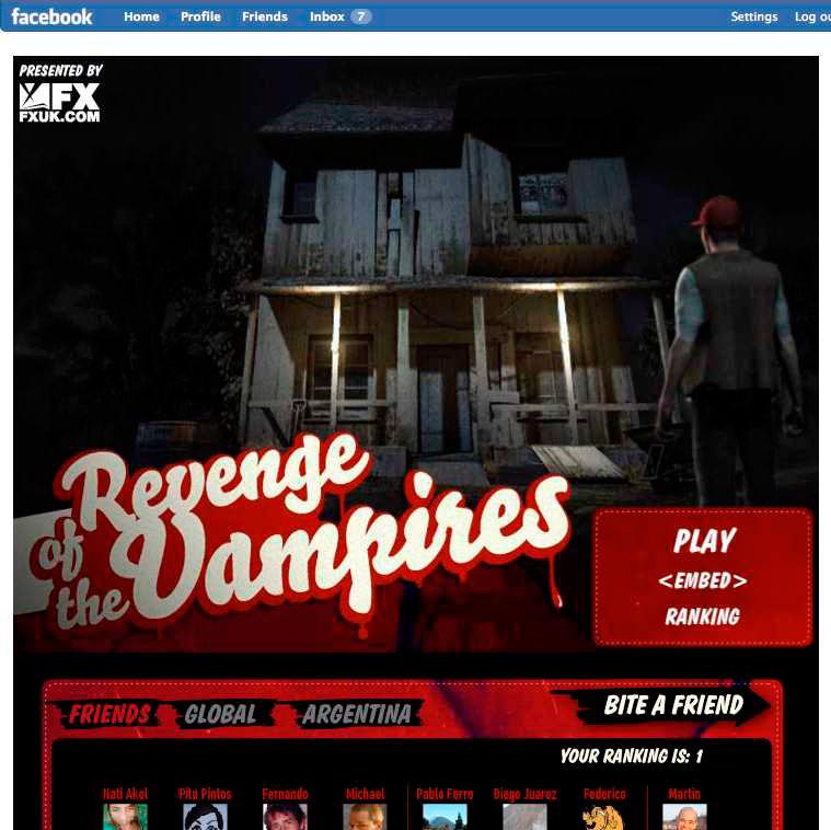 true blood revenge of the vampires game